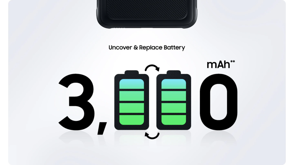 XCover 5 battery