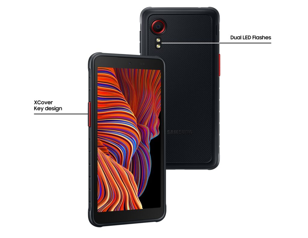 XCover 5 front and back